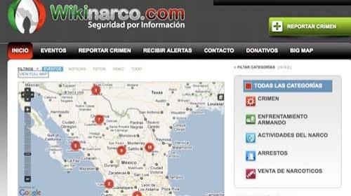 Wikinarco.com: Participación ciudadana contra el narcotráfico en México