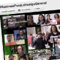 #Noalcierredelaprincesa, #SOSanidad y  #14NHuelgaGeneral en las redes sociales