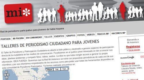 MI*, red de periodismo ciudadano para jóvenes de habla hispana