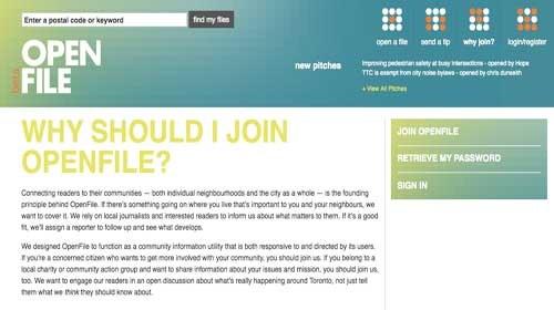 OpenFile: Ciudadanos y periodismo de investigación