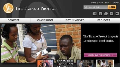 Tiziano Project: periodismo ciudadano para ayudar a los jóvenes a documentar la injusticia social