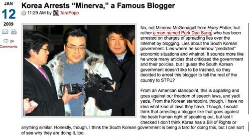Corea del Sur: arrestado por predecir correctamente la crisis