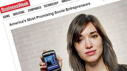 Rachel Sterne, fundadora de GroundReport, entre los emprendedores más prometedores según BusinessWeek