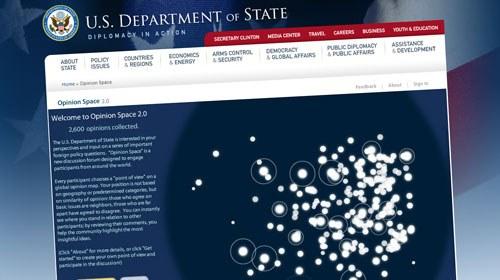 El gobierno de EE.UU. recaba en la Red la opinión ciudadana sobre su política exterior
