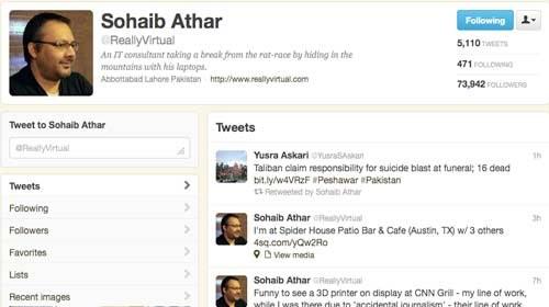 Periodista Ciudadano Accidental: Twitteando la muerte de Bin Laden