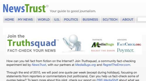 Truthsquad ayuda a los ciudadanos a verificar información