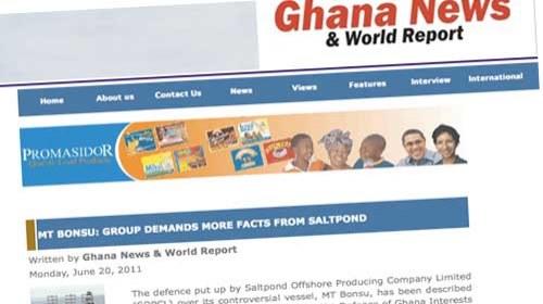 Ghana News and World Report: Periodismo ciudadano desde Ghana