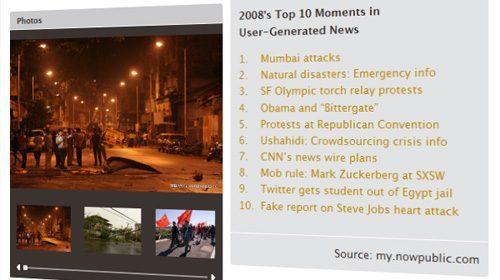 2008: Los 10 mejores momentos del periodismo ciudadano