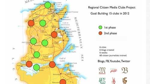 Medios ciudadanos en #Túnez para descentralizar la información