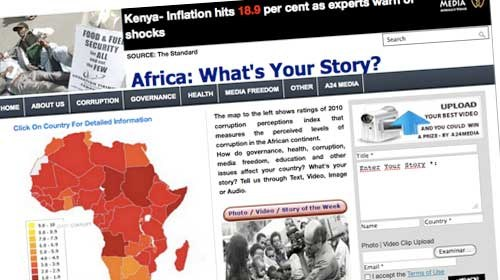 Africa: What's Your Story?: una nueva plataforma para luchar contra la corrupción en África