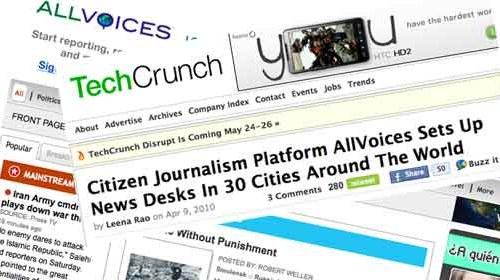 La plataforma de periodismo ciudadano Allvoices crea nuevas redacciones en 30 ciudades
