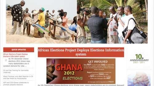 Vigilancia electoral en África a través de mensajes SMS