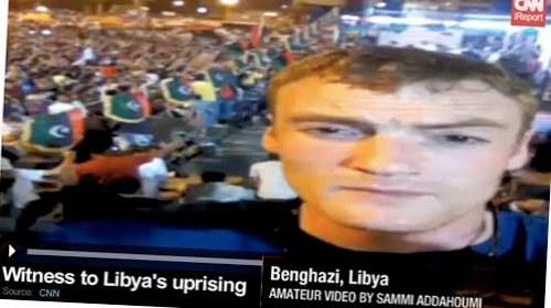 Sammi Addahoumi: de gerente de un restaurante a periodista ciudadano de la CNN en #Libia