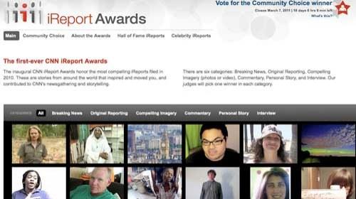 CNN lanza sus primeros premios iReport de periodismo ciudadano