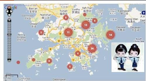 China, Google, mapas y el control de la información