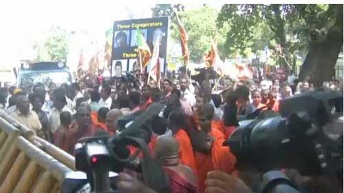 """""""Vikalpa"""" muestra las protestas ciudadanas en Sri Lanka"""