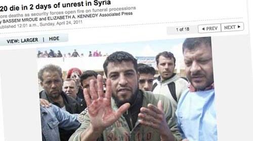 El periodismo ciudadano aliado de las agencias de noticias en Siria