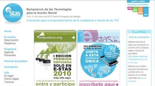 """e-STAS 2010: """"Empoderamiento de la ciudadanía a través de las TIC"""""""