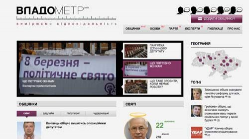 Vladometr: una herramienta para monitorizar las promesas electorales