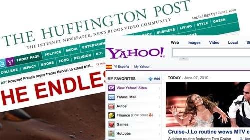 ¿Será el Huffington Post la nueva adquisición de Yahoo?