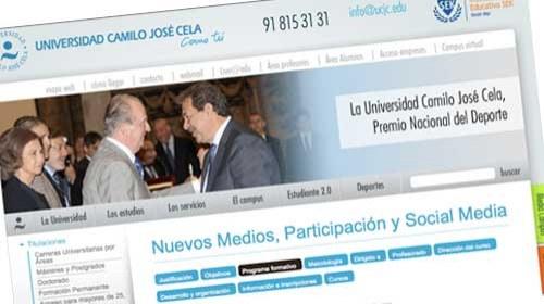 """Curso de """"Nuevos Medios, Participación y Social Media"""" en la Universidad Camilo José Cela"""