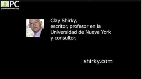 """Clay Shirky: """"Los dispositivos móviles son una de las llaves que hacen posible el periodismo ciudadano"""""""