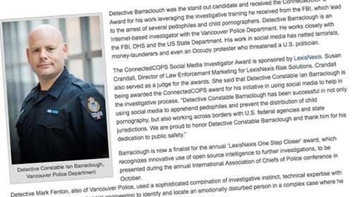 Redes sociales para luchar contra el crimen