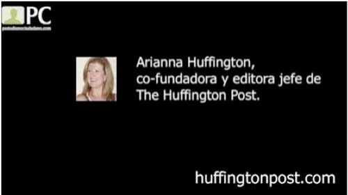 """Arianna Huffington: """"Ridiculizar el valor del periodismo ciudadano es ridiculizar el valor del mundo en el que vivimos"""""""