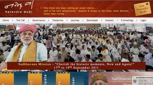 Narendra Modi, 1º primer ministro indio apuesta por el periodismo ciudadano