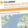 Convocado el concurso de microbecas 2013 de Rising Voices