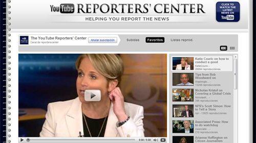 YouTube lanza Reporters' Center, un canal formativo para periodistas ciudadanos