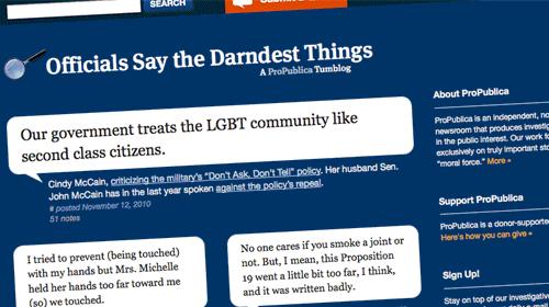 Tumblr, un servicio de blogging cada vez más usado por los medios