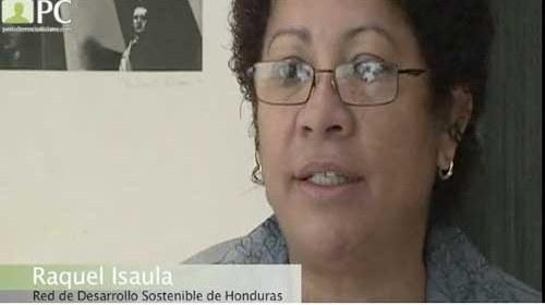 """Raquel Isaula y la red de """"Corresponsales Comunitarios"""" de Honduras"""
