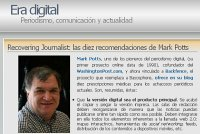 Recovering Journalist: las diez recomendaciones de Mark Potts