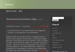 Nuevas formas de periodismo y blogs