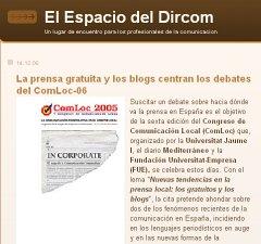 La prensa gratuita y los blogs centran los debates del ComLoc-06