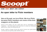 Scoopt tras las fotos de Flickr
