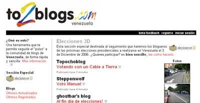 Venezuela: Elecciones en 3D