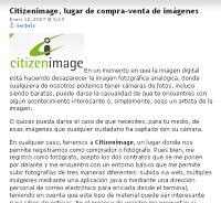 Citizenimage, lugar de compra-venta de imágenes