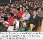 Agustín Remesal: «Internet está lleno de bazofia que se quiere asimilar a periodismo»