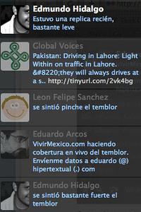 Noticias de última hora en Twitter