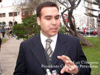 Luis Conejeros, Presidente Nacional del Colegio de Periodistas de Chile, habla sobre periodismo ciudadano
