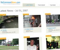 NoComment News, reporterismo gráfico ciudadano