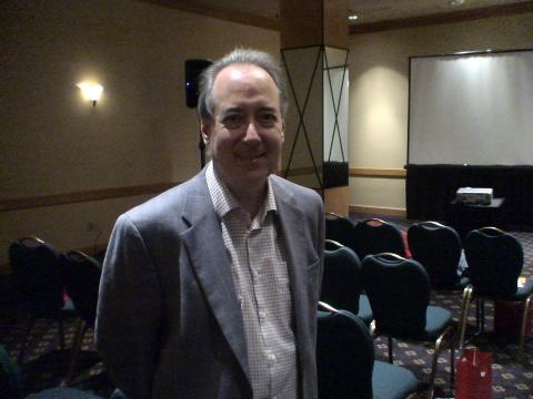 Dan Gillmor en el 8º Congreso de la ONA celebrado en Toronto