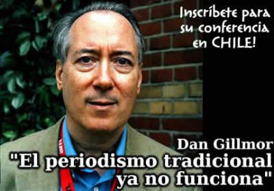 """Dan Gillmor en Chile: """"El periodismo ciudadano es saludable para los medios"""""""