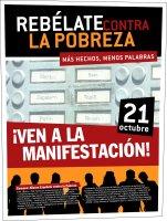 La Alianza Española contra la Pobreza reclama a la clase política que atienda el llamamiento de la ciudadanía