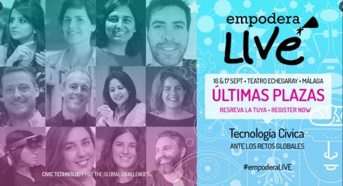 #EmpoderaLIVE: «Tecnología cívica ante los retos globales»