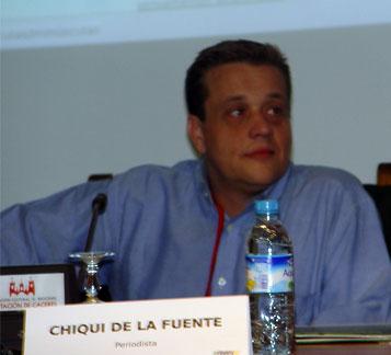 Chiqui de la Fuente y el Periodismo Participativo en el efindex07