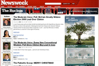 Newsweek y la Media Bloggers Association crean un blog político colectivo