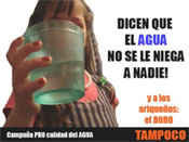 La Campaña Ciudadana iniciada desde El Morrocotudo, reivindica al Gobierno «Agua potable para todos»